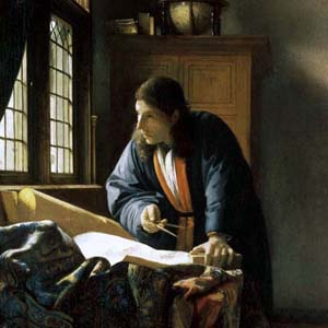 The only way to see the Vermeer in Russia - Vermeer painting