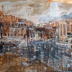 Russian Impressionism Museum shows ruins of the ancient cities of artist Valery Koshlyakov