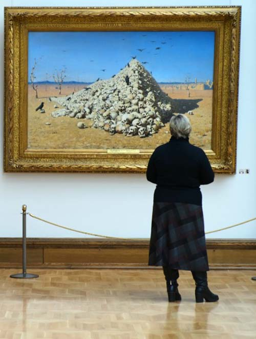 Vereshchagin's jubilee exhibition in Tretyakov Gallery for the first month was visited by more than 100 thousand people