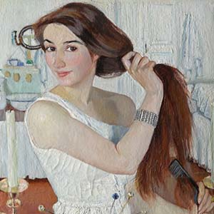 Scale exhibition of Zinaida Serebryakova will be opened in the Tretyakov Gallery on April 3