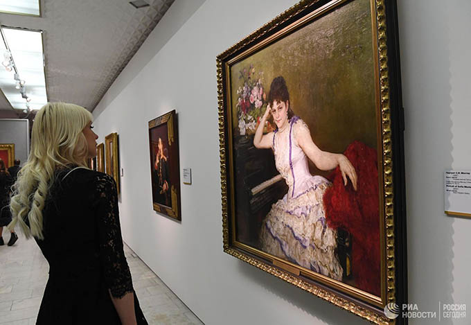 The largest in the last 25 years exhibition of Ilya Repin opens tomorrow in the Tretyakov Gallery