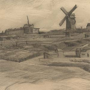 A new drawing by Vincent van Gogh has been discovered in the Van Gogh Museum