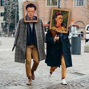On the Day of lovers who came in the image of Frida Kahlo or Diego Rivera will be allowed to the exhibition in the Manege for free