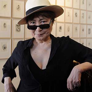 Opening of the exhibition Yoko Ono in Moscow is scheduled for October 2019