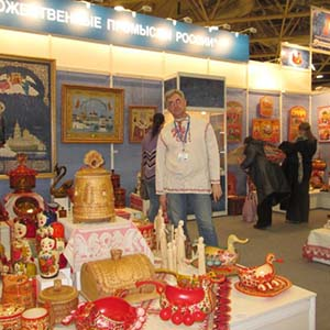 All-Russian exhibition of art crafts