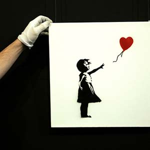 Personal exhibition of the famous street art artist Banksy will open in the CHA on June 2