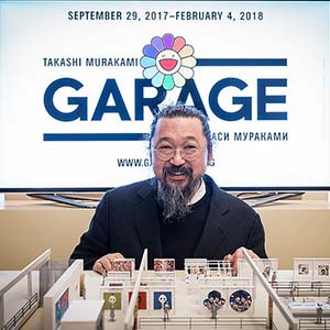 An exhibition of world-famous pop art artist Takashi Murakami will open in Moscow at the end of September