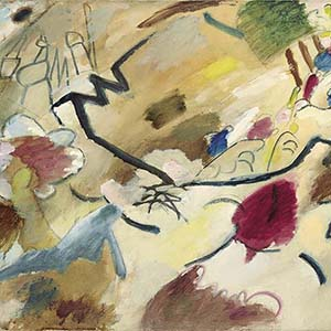 Pre-auction show of Vasily Kandinsky's painting will be held at the IN ARTIBUS foundation on October, 20