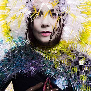 Singer Bjork presents her art project at the Moscow Biennale of Contemporary Art
