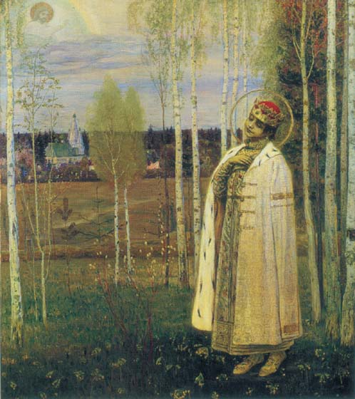 Dmitry-tsarevitch the killed, 1899, Nesterov Mikhail, The Russian Museum, St.Petersburg paintings to artist of ArtRussia