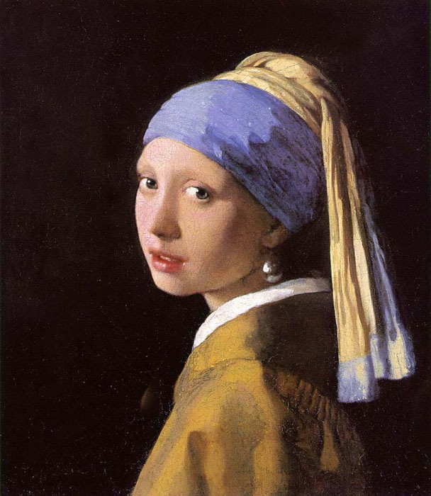Girl with a Pearl Earring, 1660, Vermeer Jan, Royal Cabinet of Paintings, The Hague paintings to artist of ArtRussia