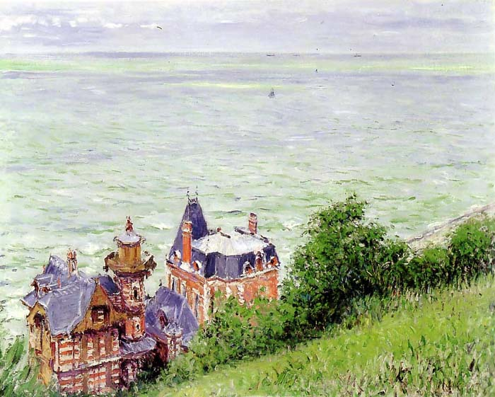 Villas in Trouville, 1884, Caillebotte Gustave, Montgomery Gallery / Kemper Corporation paintings to artist of ArtRussia