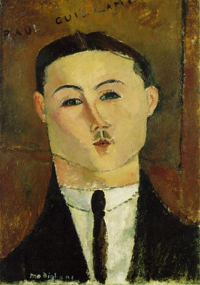 "Portrait of Paul Guillaume, 1916, Modigliani Amedeo, Art Gallery ""Bellagio"", Las Vegas paintings to artist of ArtRussia"