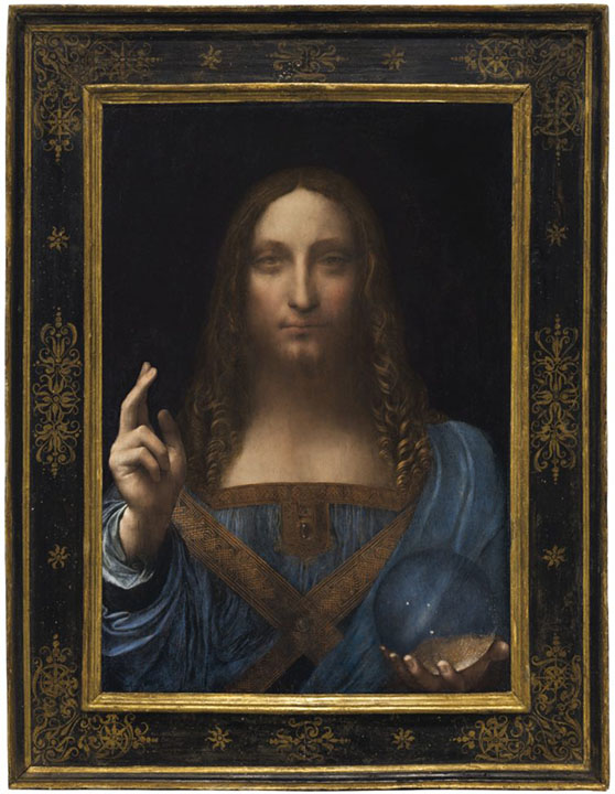 Saviour of the World, Vinci Leonardo da, Private collection paintings to artist of ArtRussia