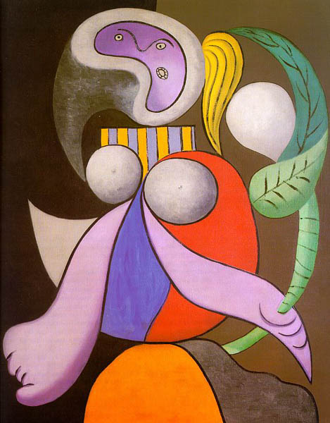 Woman with flower, 1932, Picasso Pablo, Galerie Beyeler, Basel paintings to artist of ArtRussia