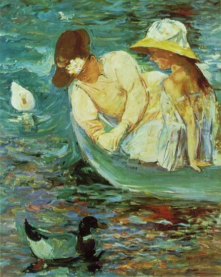 Summer, 1894, Cassatt Mary, Terra Foundation for the Arts paintings to artist of ArtRussia