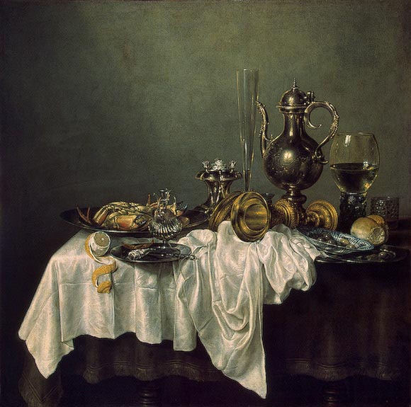 Still life with crab, 1648, Heda Willem Claesz, Hermitage, St. Petersburg paintings to artist of ArtRussia