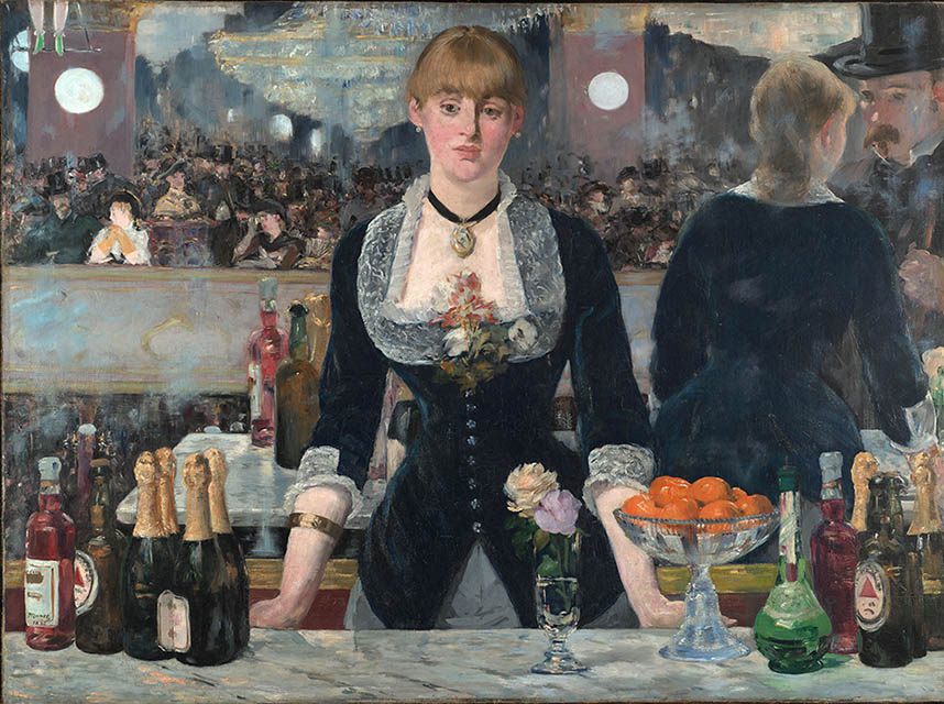 Bar at the Folies Bergere, 1882, Manet Edouard, Courtauld Gallery, London paintings to artist of ArtRussia