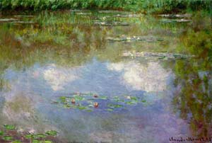 Water Lilies (Clouds)