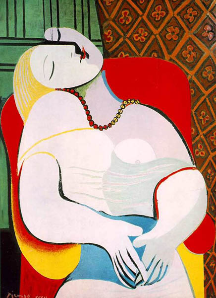 Sleep, 1932, Picasso Pablo, Private collection paintings to artist of ArtRussia