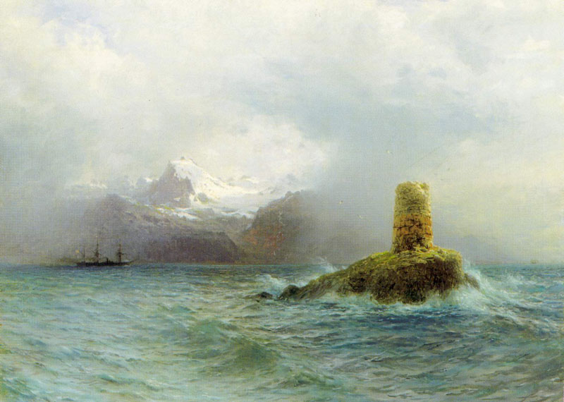 Lafotensky island, 1895, Lagorio Lev, Voronezh Regional Art Museum  of I.N.Kramskoy, Voronezh paintings to artist of ArtRussia