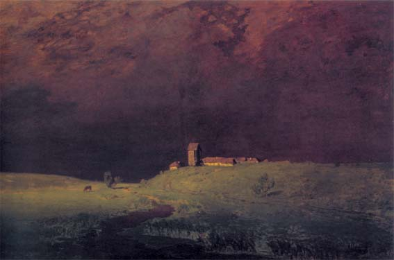 After rain, 1879, Kuindzhi Arkhip, The Tretyakov Gallery, Moscow paintings to artist of ArtRussia