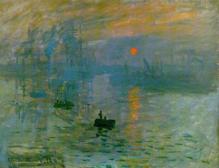 Impression (Sunrise), 1872, Monet Claude, Museum 'Marmottan', Paris paintings to artist of ArtRussia